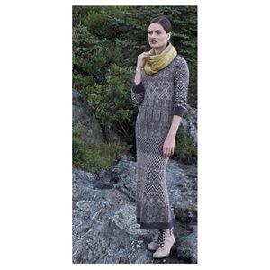 Anthropologie Sparrow sweater maxi dress